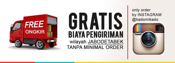 Promo Free Ongkir JABODETABEK